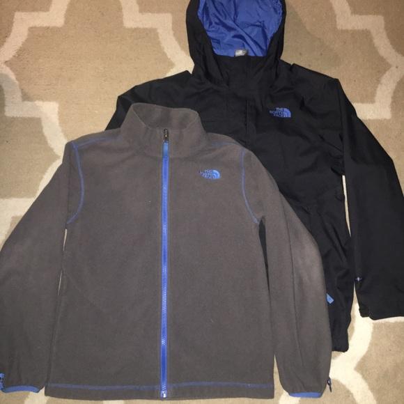 2f75f0e6a Northface 3-in-1 Triclimate Jacket Black Blue Ski
